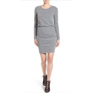 Leith long sleeve gray dress size XS // 1310
